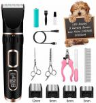 Durable Pet Hair Clippers & Trimmers Power 8W Voltage 110-240V Customized Logo