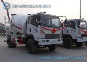 China Camion de mélangeur de rouleur du Roi Brand 6 de M3 Sinotruk du blanc 4 mini 250 litres on sale