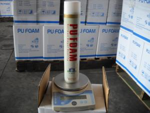 China High Density Polyurethane Spray Foam / Winter PU Foam Insulation Spray Can on sale