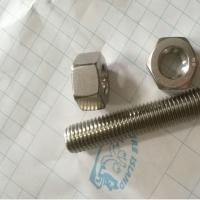 Hex Head Stainless Steel 12*150mm 316L Stud Bolt and Nuts