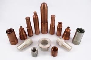 China CNC Impact Extrusion Process CNC Auto Parts Custom Copper Metal Components on sale