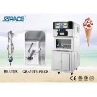 Floor Standing Commercial Soft Serve Ice Cream Machine Three Flavors