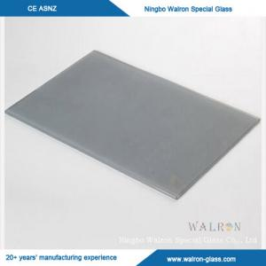 China High Quality Smoke Grey Flat Tempered Glass from China on sale