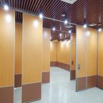 85MM Aluminum Frame Sound Proof Partitions Melamine Surface Movable Wall