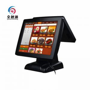 China Double 15 Touch Panel Display / Pos Terminal Restaurant Ordering Machine on sale