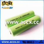 Digital High-Capacity AA2600 Battery 1.2V