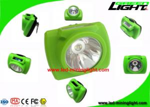 China PC High Beam Safety Rechargeable LED Headlamp For Underground Mining Tunneling on sale