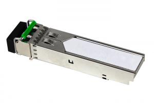 China Switched Backplane Fiber Optical Transceiver , 1000base SX SFP Transceiver 850nm 550m on sale