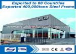 BS / ASTM Prefabricated Steel Structures , Professional  Pre Fab Metal Building