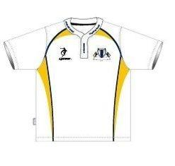 China Logo Pattern Sublimated Youth Football Uniforms / Jerseys , Football Team Clothing on sale