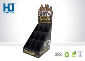China Multi Colors Cardboard POS Display Stand Customized Poker For Entertainment Store on sale