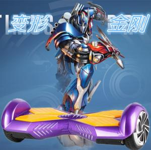 China Self Balancing Electric Scooter balance two wheels 4400ah Samsung battery Max Speed 12km/h on sale