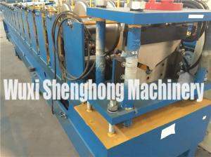 China Galvanized Metal Steel Roof Tile Roll Forming Machine For Ridge Cap on sale
