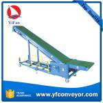 Long distance mobile truck container loading belt conveyor from China