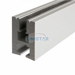edge lighting glass aluminum extruded profile for led strips for