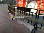 China Customized Steel Pipe Fence / Railing , Roads Galvanized Steel Fence wholesale