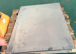 China Manual Die Cutting Machine thickness 2-7mm Alloy Steel Plate on sale