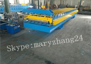 China PPGI Steel corrugated sheet roll forming machine , roofing sheet making machine on sale