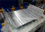 Screwless / Klip / Clip Lock Roofing Sheet Roll Forming Machine 12-15m/Min Speed