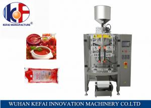 China KEFAI 1kg tomato paste packing machine,automatic tomato sauce filling machine,ketchup packing machine on sale