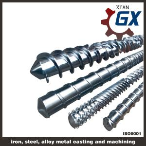 China Full covering bimetallic single screw & barrel on sale