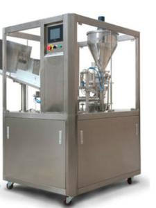 China Small Tube Automatic Nail Polish Filling Machine PLC Controller Color Touch Screen on sale
