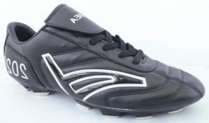 China Custom Black Hummel Football Boots , World Cup Football Boots on sale