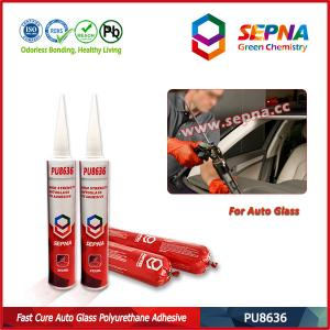 China High Strength Fast Curing Automotive Windscreen Sealant PU8636 on sale