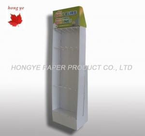 China Professional Floor Cardboard Display Stands For Grocery / Store on sale