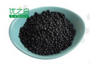China Amino Humic Acid Organic Plant Fertilizer Black Granular 100% Purity on sale