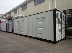 China Container silent diesel generator sets(20KW-2000KW) on sale