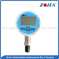 China 5 Display Digital High Pressure Gauge , Eco Electronic Air Pressure Gauge on sale