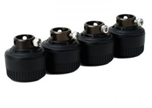 China IP67 Tire Pressure Monitor Sensor Black Color TPMS External Sensor For Leak Detection on sale