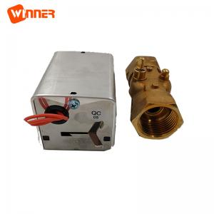 China 2 way 3way HVAC system solar system usage SW-B..H motorized spring return zone valve on sale