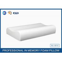 Pure Comfort Contoured Memory Foam Pillow With Cooling Gel / Polyurethane Foam Pillow