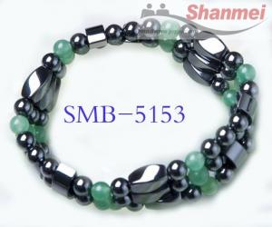 China magnetic jewelry,Hematite jewelry.magnetic beads on sale