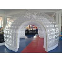 Large Transparent Inflatable Event Tent / Fire - Retartant Clear Inflatable Bubble Tent