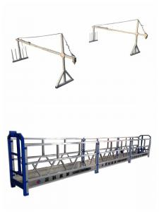 China Hot Galvanized 7.5m Rope Suspended Platform Zlp800 With Ce Certificate on sale