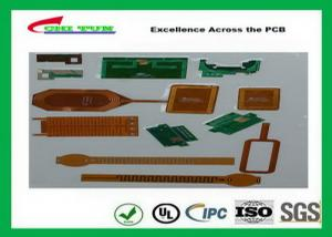 China Flexible Printed Circuit Boards With Polyimidehigh Tg Polyimide Ni / Au , Enig , Tin Plating Surface Treatment on sale
