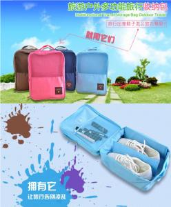 China 2015 fashion organic plain shoe bag for men and wome used supplier