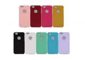 China 9 Colors Pc Phone Case Scratch Resistant  For iPhone 6s / 7s / 8s on sale