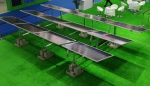 China High Durability Solar Panel Mounting Structure , Rooftop Solar Mounting Structure on sale