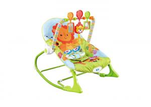 China Comfortable 2 In 1 Baby Rocking Chair  With Elastic String To Make Music Sound on sale