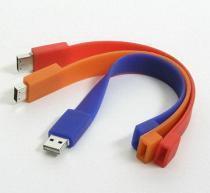 China Wrist band USB flash drive on sale