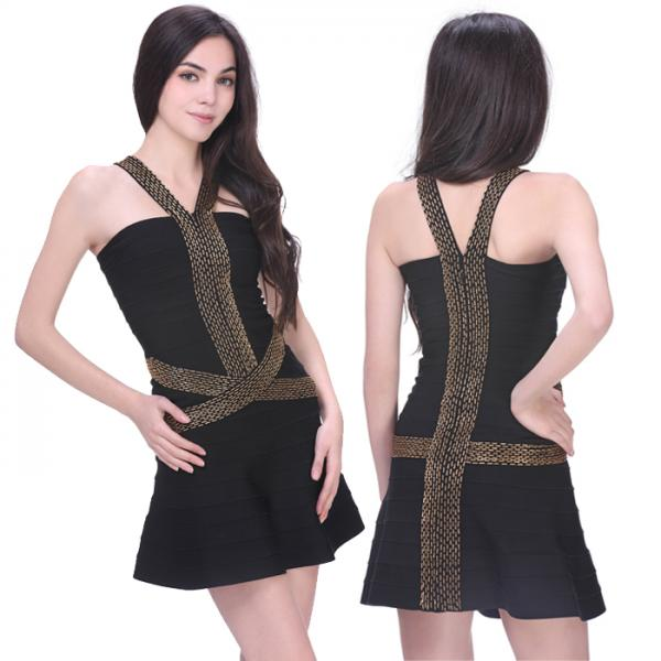 Wholesaleretail Plus Size Sexy Ladies Black Short High Elastic