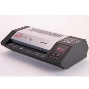 China Plastic Laminated ID Card Machine Hot Cold Office Laminator High Power on sale