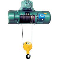 China 50T CD1 (MD1) foot mounted electric wire rope hoist on sale