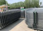 Pre-Galvanised Steel Tube Silicon Bronze Welded Industrial Security Fencing