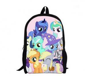 China Little Pony Cartoon school bag on sale