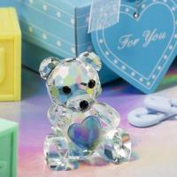 China Pink crystal pacifier favor on sale